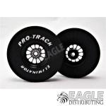 3/32 x 1 5/16 x .300 3D Black Turbine Drag Wheels