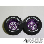 3/32 x 1 1/16 x .435 Purple Star Drag Wheels