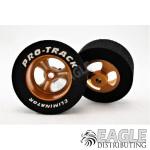 3/32 x 1 1/16 x .435 Gold Streeter Drag Wheels
