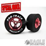 3/32 x 1 1/16 x .435 Red Streeter Drag Wheels