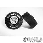 3/32 x 1 1/16 x .435 Black Turbine Drag Wheels