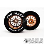 3/32 x 1 1/16 x .435 Gold Turbine Drag Wheels
