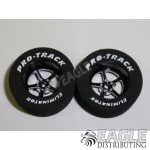 3/32 x 1 1/16 x .435 Black Pro Star Drag Wheels