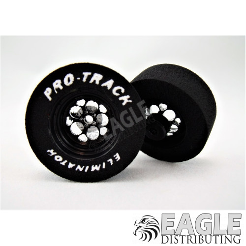 3/32 x 1 1/16 x .435 3D Black Magnum Drag Wheels-PRON404J3DBL
