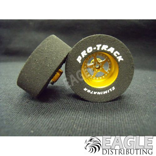 Star Series CNC Drag Rears, 1 3/16 x .435, Gold
