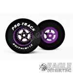 3/32 x 1 3/16 x .435 Purple Star Drag Wheels
