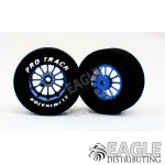 3/32 x 1 3/16 x .435 Blue Turbine Drag Wheels