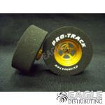 3/32 x 1 3/16 x .435 3D Gold Pro Star Drag Wheels