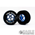 3/32 x 1 3/16 x .435 Blue Pro Star Drag Wheels