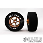 3/32 x 1 3/16 x .435 Gold Pro Star Drag Wheels