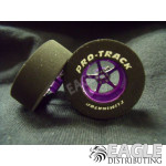 3/32 x 1 3/16 x .435 Purple Pro Star Drag Wheels