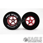 3/32 x 1 3/16 x .435 Red Pro Star Drag Wheels