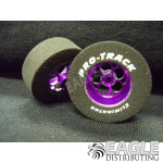 3/32 x 1 3/16 x .435 Purple Magnum Drag Wheels
