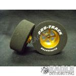3/32 x 1 3/16 x .435 Gold Evolution Drag Wheels