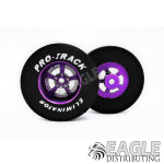 3/32 x 1 3/16 x .435 Purple Evolution Drag Wheels