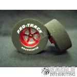 3/32 x 1 3/16 x .435 Red Evolution Drag Wheels
