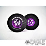 3/32 x 1 5/16 x .435 Purple Star Drag Wheels