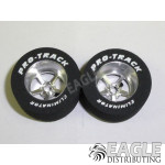Pro Star Series CNC Drag Rears, 1 1/16 x .500, 1/8 axle