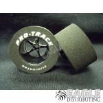 Pro Star Series CNC Drag Rears, 1 1/16 x .500, 1/8 axle, Black
