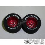 3/32 x 1 1/16 x .500 Red Top Fuel Drag Wheels