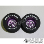 3/32 x 1 1/16 x .500 Purple Star Drag Wheels