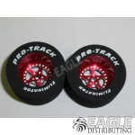 3/32 x 1 1/16 x .500 Red Star Drag Wheels