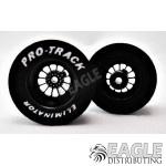 3/32 x 1 1/16 x .500 3D Black Turbine Drag Wheels