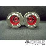 3/32 x 1 1/16 x .500 Red Turbine Drag Wheels