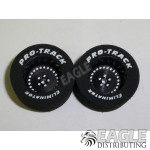 3/32 x 1 1/16 x .500 Black Classic Drag Wheels