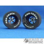 3/32 x 1 1/16 x .500 3D Black Pro Star Drag Wheels