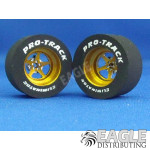 3/32 x 1 1/16 x .500 3D Gold Pro Star Drag Wheels
