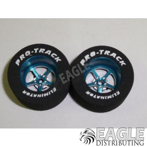 Pro Star Series CNC Drag Rears, 1 1/16 x .500, Blue