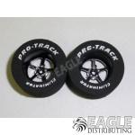 3/32 x 1 1/16 x .500 Black Pro Star Drag Wheels