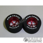 3/32 x 1 1/16 x .500 Red Pro Star Drag Wheels