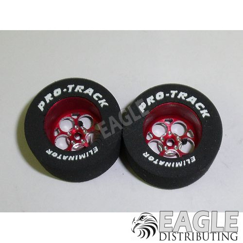 Magnum Series CNC Drag Rears, 1 1/16 X .500, Red