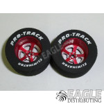 3/32 x 1 1/16 x .500 Red Evolution Drag Wheels