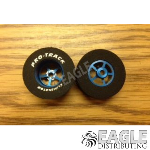 Pro Star Series CNC Drag Rears, 1 3/16 x .500, Blue 1/8 Axle