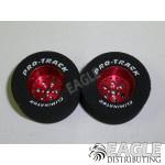 3/32 x 1 3/16 x .500 Red Top Fuel Drag Wheels