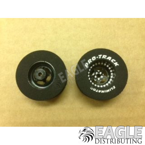 Star Series Drag Rears,1 3/16 x .500, 3D, Black