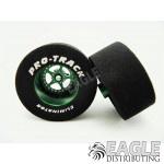 3/32 x 1 3/16 x .500 Green Star Drag Wheels