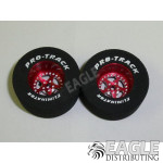 3/32 x 1 3/16 x .500 Red Star Drag Wheels