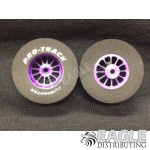 3/32 x 1 3/16 x .500 Purple Turbine Drag Wheels