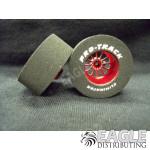 3/32 x 1 3/16 x .500 Red Turbine Drag Wheels