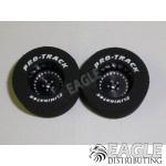 3/32 x 1 3/16 x .500 Black Classic Drag Wheels