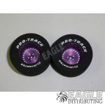 3/32 x 1 3/16 x .500 Purple Classic Drag Wheels