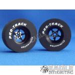 3/32 x 1 3/16 x .500 3D Black Pro Star Drag Wheels