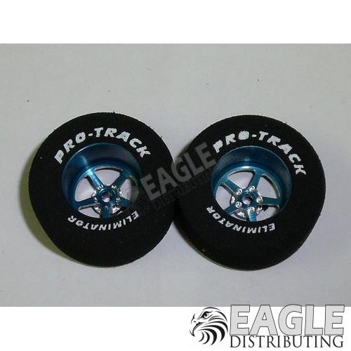 Pro Star Series CNC Drag Rears, 1 3/16 x .500, Blue