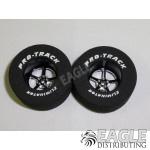 3/32 x 1 3/16 x .500 Black Pro Star Drag Wheels