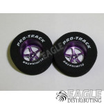 3/32 x 1 3/16 x .500 Purple Pro Star Drag Wheels