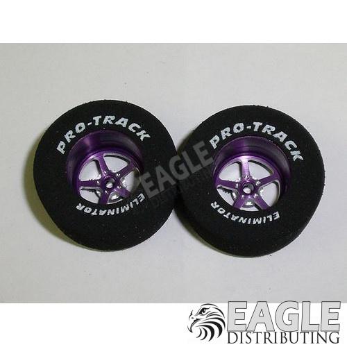 Pro Star Series CNC Drag Rears, 1 3/16 x .500, Purple